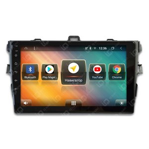 IQ NAVI TS9-2904PFHD (DSP и 4G-SIM) для Toyota Corolla X (E140 / E150) (2006-2013) на Android 8.1.0
