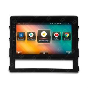 IQ NAVI TS9-2921PFHD (DSP и 4G-SIM) для Toyota Land Cruiser 200 Restyle (2015-2020) на Android 8.1.0