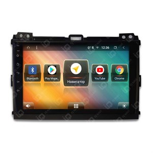IQ NAVI TS9-2910PFHD (DSP и 4G-SIM) для Toyota Land Cruiser Prado 120 (2002-2009) на Android 8.1.0