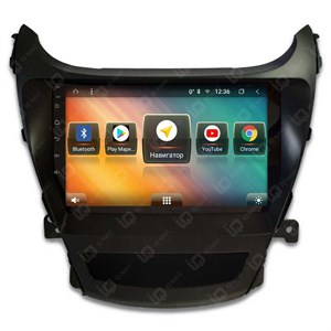 IQ NAVI TS9-1602PFHD (DSP и 4G-SIM) для Hyundai Elantra V Restyle (MD) (2014-2016) на Android 8.1.0