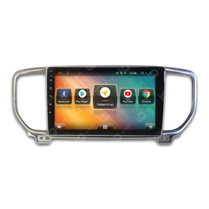 IQ NAVI TS9-1723PFHD (DSP и 4G-SIM) для Kia Sportage IV Restyle (QL) (2018-2020) на Android 8.1.0