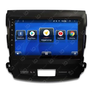 IQ NAVI TS9-2005CFHD с DSP + 4G SIM + CarPlay для Mitsubishi Outlander XL (2007-2012) на Android 8.1.0