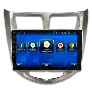 IQ NAVI TS9-1608CFHD с DSP + 4G SIM + CarPlay для Hyundai Solaris I (2010-2016) на Android 8.1.0