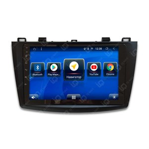IQ NAVI TS9-1901CFHD с DSP + 4G SIM + CarPlay для Mazda 3 (BL) (2009-2013) на Android 8.1.0