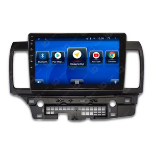 IQ NAVI TS9-2004CFHD с DSP + 4G SIM + CarPlay для Mitsubishi Lancer X (2007-2017) на Android 8.1.0