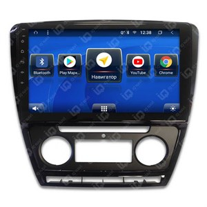 IQ NAVI TS9-2504CFHD с DSP + 4G SIM + CarPlay для Skoda Octavia (A5) (2004-2013) на Android 8.1.0
