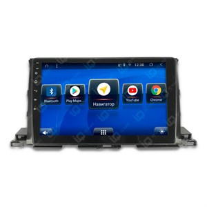 IQ NAVI TS9-2916CFHD с DSP + 4G SIM + CarPlay для Toyota Highlander III (XU50) (2014-2020) на Android 8.1.0