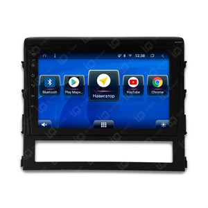 IQ NAVI TS9-2921CFHD с DSP + 4G SIM + CarPlay для Toyota Land Cruiser 200 Restyle (2015-2020) на Android 8.1.0