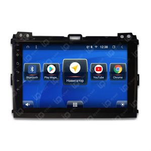 IQ NAVI TS9-2910CFHD с DSP + 4G SIM + CarPlay для Toyota Land Cruiser Prado 120 (2002-2009) на Android 8.1.0