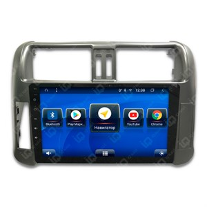 IQ NAVI TS9-2911CFHD с DSP + 4G SIM + CarPlay для Toyota Land Cruiser Prado 150 (2009-2013) на Android 8.1.0