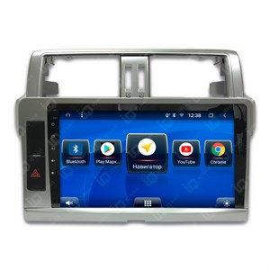 IQ NAVI TS9-2912CFHD с DSP + 4G SIM + CarPlay для Toyota Land Cruiser Prado 150 Restyle (2013-2017) на Android 8.1.0