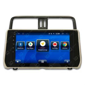 IQ NAVI TS9-2929CFHD с DSP + 4G SIM + CarPlay для Toyota Land Cruiser Prado 150 Restyle II (2017-2020) на Android 8.1.0