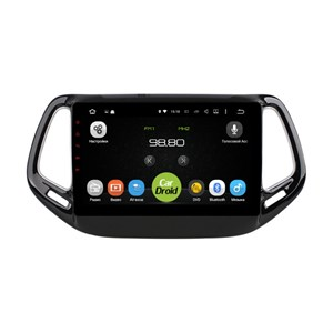 Штатная магнитола Roximo CarDroid RD-2204F для Jeep Compass II 2017-2018 (Android 9.0) DSP