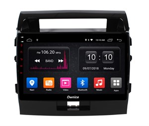 CarMedia OL-1620-P5 для Toyota LC 200 2007-2015 на Android 9.0