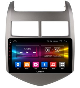 CarMedia OL-9226-P5 для Chevrolet Aveo II 2011-2018 на Android 9.0