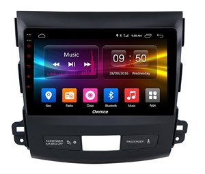 CarMedia OL-9636-P5 для Mitsubishi Outlander II (XL) 2006-2012 на Android 9.0