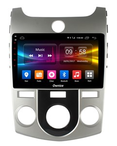 CarMedia OL-9736-M-P5 для Kia Cerato II 2009-2013 с кондиционером на Android 9.0