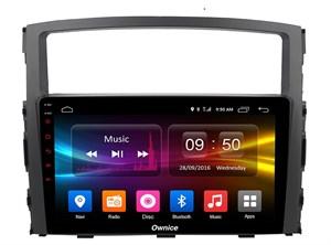 CarMedia OL-9566-P6 для Mitsubishi Pajero IV 2006-2019 на Android 9.0