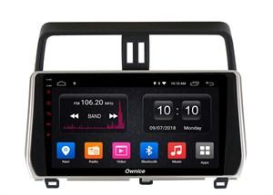 CarMedia OL-1680-2D-MTK для Toyota LC Prado 150 2017-2019 на Android  6.0
