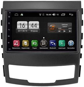 Штатная магнитола FarCar s185 для SsangYong Actyon 2010-2013 на Android (LY832)