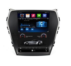 Штатная магнитола Farcar T209 Tesla для Kia Santa Fe III 2012-2018