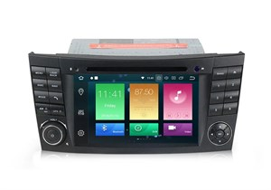 CarMedia XN-7011-P6 Mercedes E-класс (W211/S211) 2002-2009, CLS-класс (W219) 2004-2010​​​​​​​ на Android 9.0