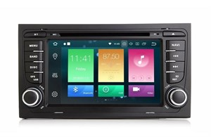 CarMedia XN-7510-P5 Audi A4/RS4/S4 (B6,B7,8E,8H) 2000-2008 на Android 9.0