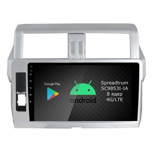Roximo RI-1116 (с DSP и 4G-SIM) для Toyota Land Cruiser Prado 150 2013-2017 на Android 9.0