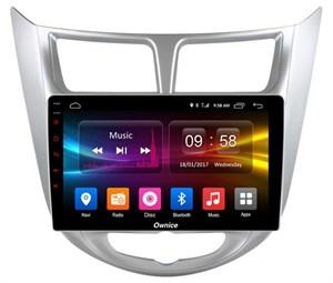 CarMedia OL-9707-S9 для Hyundai Solaris I 2011-2017 на Android 8.1