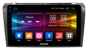 CarMedia OL-9503-S9 для Mazda 3 (BK) 2003-2009 на Android 8.1