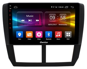 CarMedia OL-9512-2D-S9 для Subaru Forester III 2008-2013, Impreza III 2007-2013 на Android 8.1