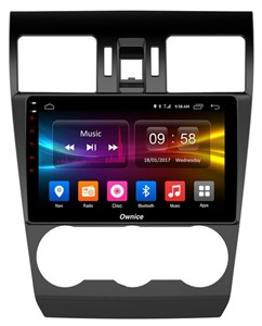 CarMedia OL-9511-S9 для Subaru Forester IV 2012-2014, Impreza IV 2012-2015, XV I 2011-2015 на Android 8.1