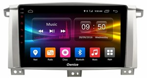 CarMedia OL-9681-S9 для Toyota Land Cruiser 105 2002-2008 на Android 8.1