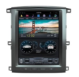 CarMedia ZF457/ZF-1301-DSP Tesla-Style для Toyota LC 100 2002-2007 на Android 9.0