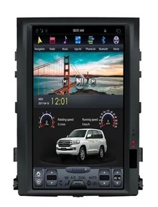 CarMedia ZF-1806L-DSP Tesla-Style для Toyota LC 200 2007-2015 на Android 9.0