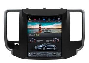 CarMedia ZF-1126-DSP Tesla-Style для Nissan Teana 2008-2013 (комплектация с монохромным дисплеем) на Android 9.0