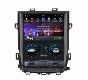 CarMedia ZF-1269H-DSP Tesla-Style для Toyota Alphard 2010-2014 на Android 9.0
