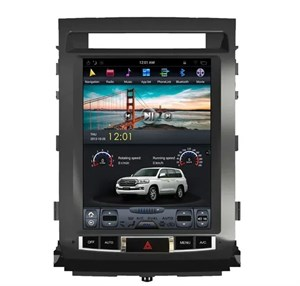 CarMedia ZF-1220-DSP Tesla-Style для Toyota Land Cruiser 200 2007-2015 Elegance на Android 9.0