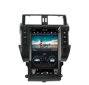 CarMedia ZF-1801-DSP Tesla-Style для Toyota Land Cruiser Prado 150 2013-2016 на Android 9.0