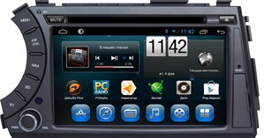 CarMedia KR-7061-T8 для SsangYong Kyron I, Korando Sports, Actyon I, Actyon Sports I, Actyon Sports II 2005-2018 на Android 9.0