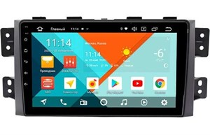 Штатная магнитола Wide Media MT9142PK-2/16 для Kia Mohave I 2008-2018 на Android 9.1