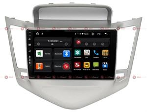 Redpower 61045 для Chevrolet Cruze 2009-2012 (серебряная рамка) на Android 10.0