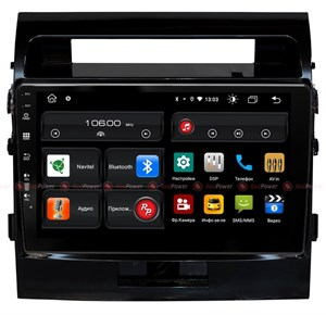 Redpower 61200 для Toyota Land Cruiser 200 2007-2014 (глянцевая рамка) на Android 10.0