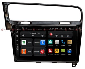 Redpower 61006 для Volkswagen Golf 7 2013-2020 (черный глянец) на Android 10.0