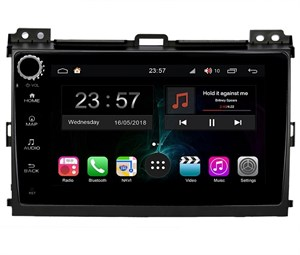 Farcar RG456RB (S300)-SIM 4G с DSP для Toyota Land Cruiser Prado 120 2002-2009 на Android 9.0