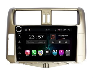 Farcar RG065RB (S300) SIM-4G с DSP для Toyota Land Cruiser Prado 150 2009-2013 на Android 9.0