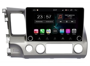 Farcar RG044RB (S300) SIM-4G с DSP для Honda Civic 7 (VII) 2003-2005, Civic 8 (VIII) 2006-2012 на Android 9.0