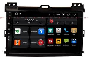 Redpower 61182 для Toyota Land Cruiser Prado 120 (2002-2009) на Android 10.0