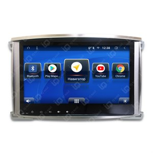 IQ NAVI T58-2908C для Toyota Land Cruiser 100 (2002-2007) на Android 8.1