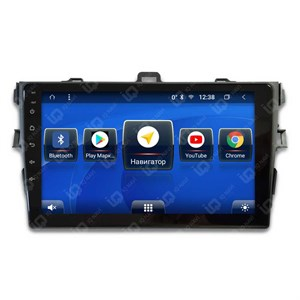 IQ NAVI TS9-2904СFHD с DSP + 4G SIM + CarPlay для Toyota Corolla X (E140 / E150) (2006-2013) на Android 8.1.0